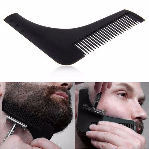 Beard Shaping Comb Black