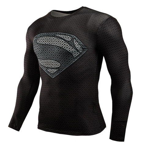 Superman Compression Long Sleeve
