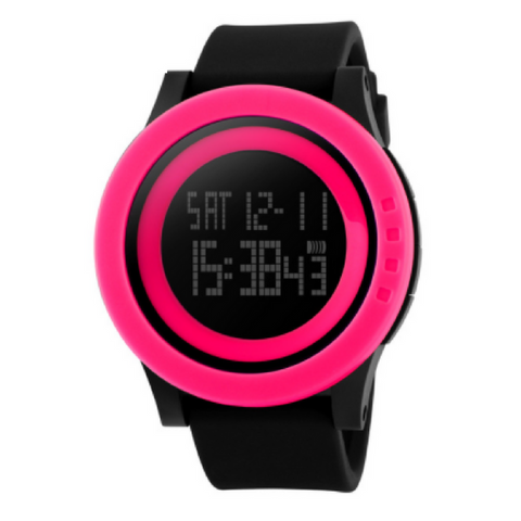 Civo Digital Watch Hot Pink