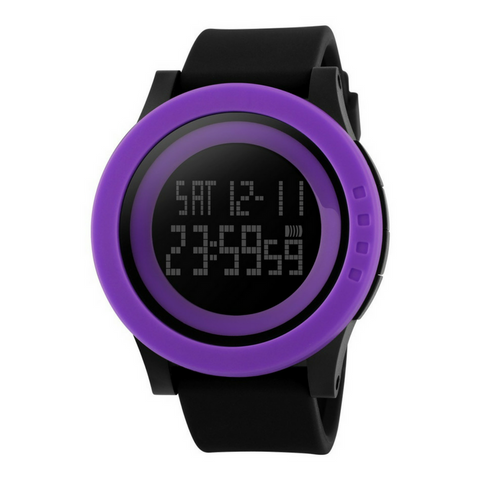 Civo Digital Watch Purple