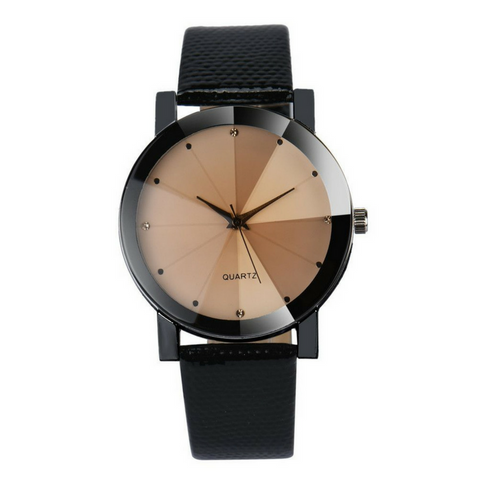 Royal Quartz Analog Watch Brown