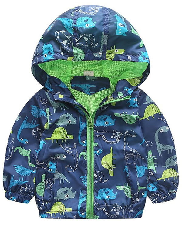 Linder Baby Windbreaker Jacket in Blue