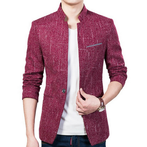 Casual Blazer Red