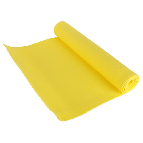 YOGA Accessories 1/4'' Extra Thick Deluxe Yoga Mat in Yellow