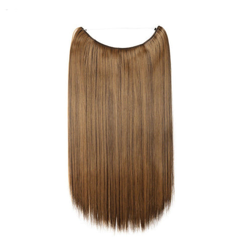 Flip-in Hair Extension - Sandy brown