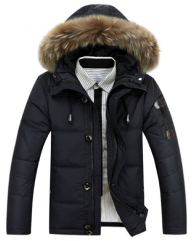 Winter Parka in Black