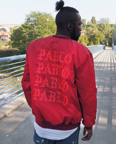 Red Pablo Bomber Jacket @joffrey_official