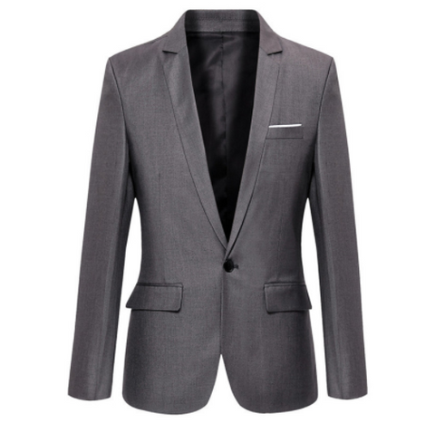 Super Skinny Blazer in Grey