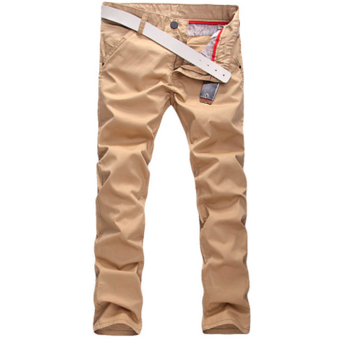 Linder Skinny Fit Chinos in Beige