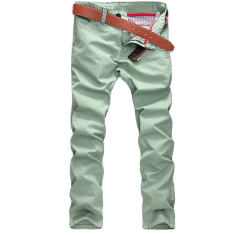 Linder Skinny Fit Chinos in Green