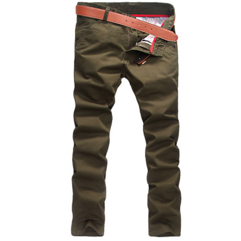 Linder Skinny Fit Chinos in Khaki