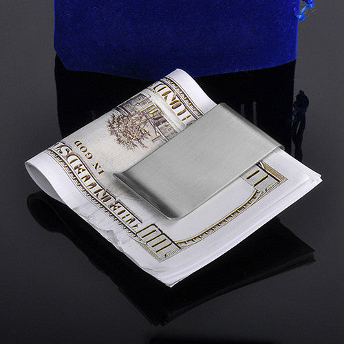 double sided smart money clip credit card holder - Money Clip Credit Card Holder