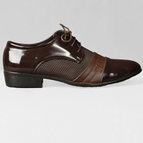 The Cartographer Dress Shoes-Brown