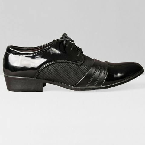 The Cartographer Dress Shoes-Black