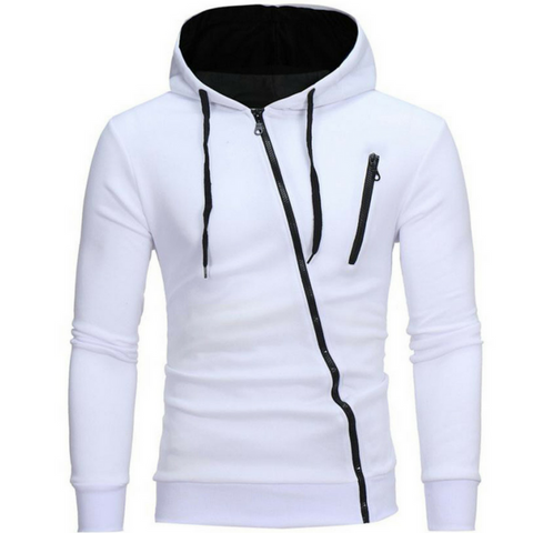 White Crash Operative Hoodie