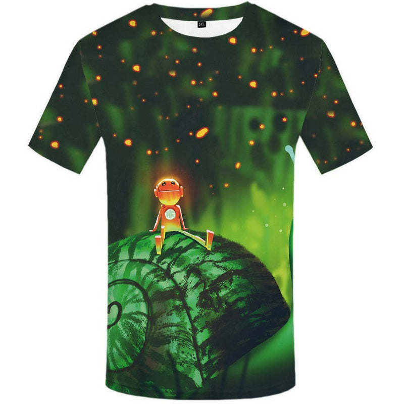 Andro Green 3D Tee