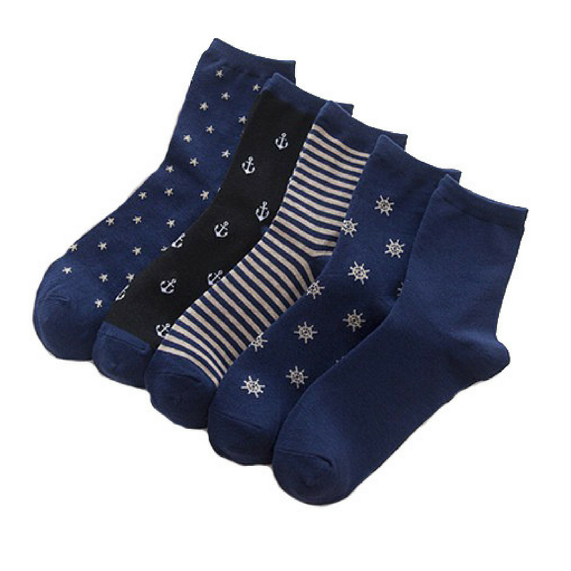 5 Pairs Pirate Socks