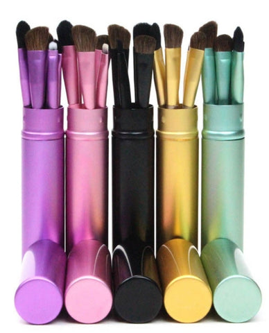 Colorful Mini Makeup Brushes