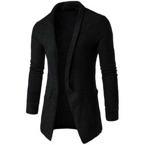 Ultimate Lightweight Shawl Cardigan In Black
