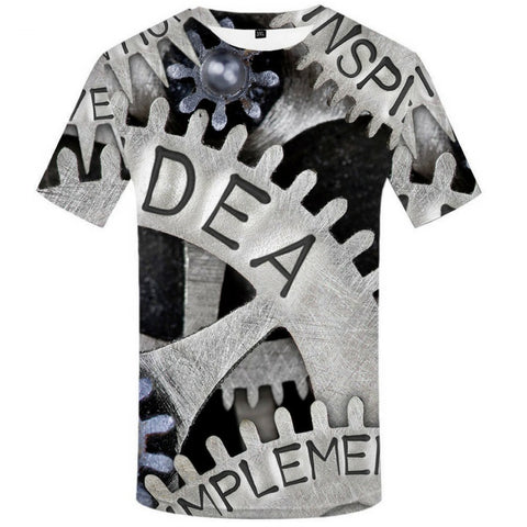 Machine 3D Tees