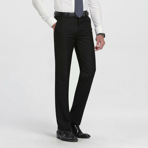 Slim Tapered Trousers - Black