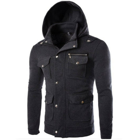 Hooded Agent Jacket