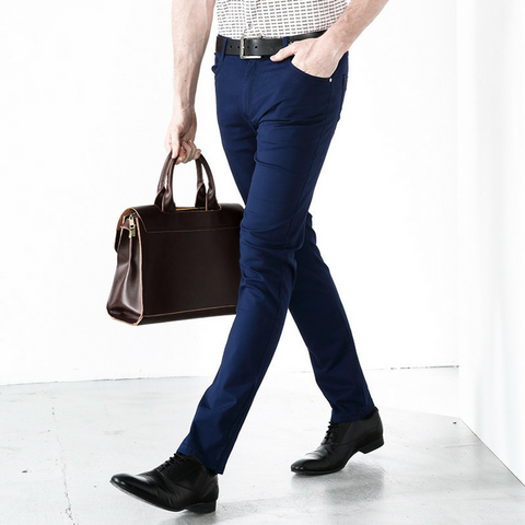 Men's Classic Trousers - Blue