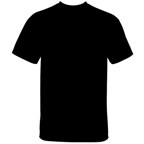 Men's Cotton Crew Neck T-shirt Black