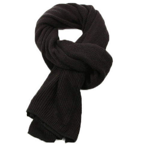 Black Vianos Warm Scarf