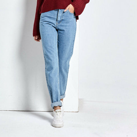 Classic High Rise Light Blue Jeans