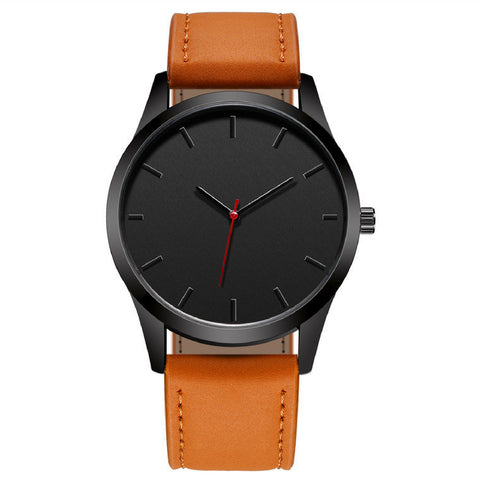 Linder Men Watch Leather Sport in Brown