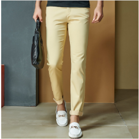 Fashion Straight Chinos