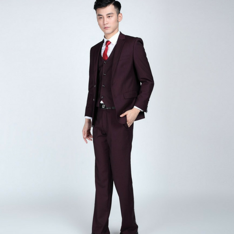 Party Wedding Suits Two Button