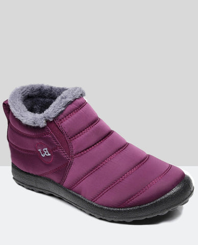 Linder Winter Boots Anti Slip in Red