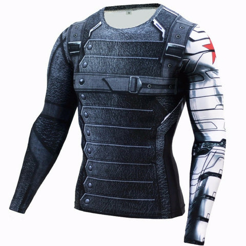 Winter Soldier Compression Long Sleeve
