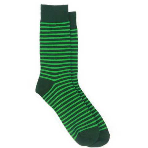 4 Pairs Green Style Socks in Line