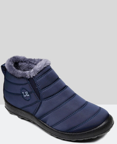 Linder Winter Boots Anti Slip in Blue