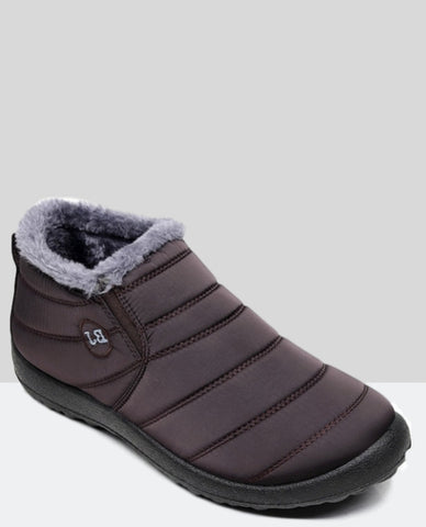 Linder Winter Boots Anti Slip in Brown