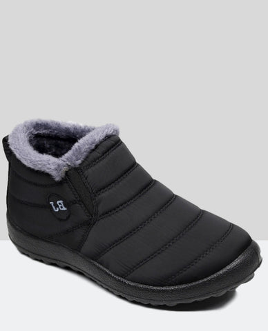 Linder Winter Boots Anti Slip in Black