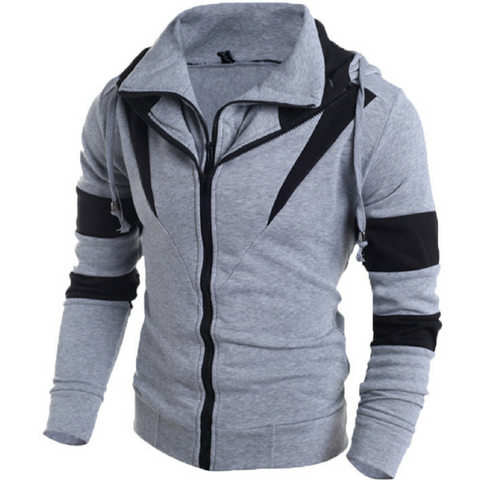 Venom Assassins Hoodie Jacket-Grey