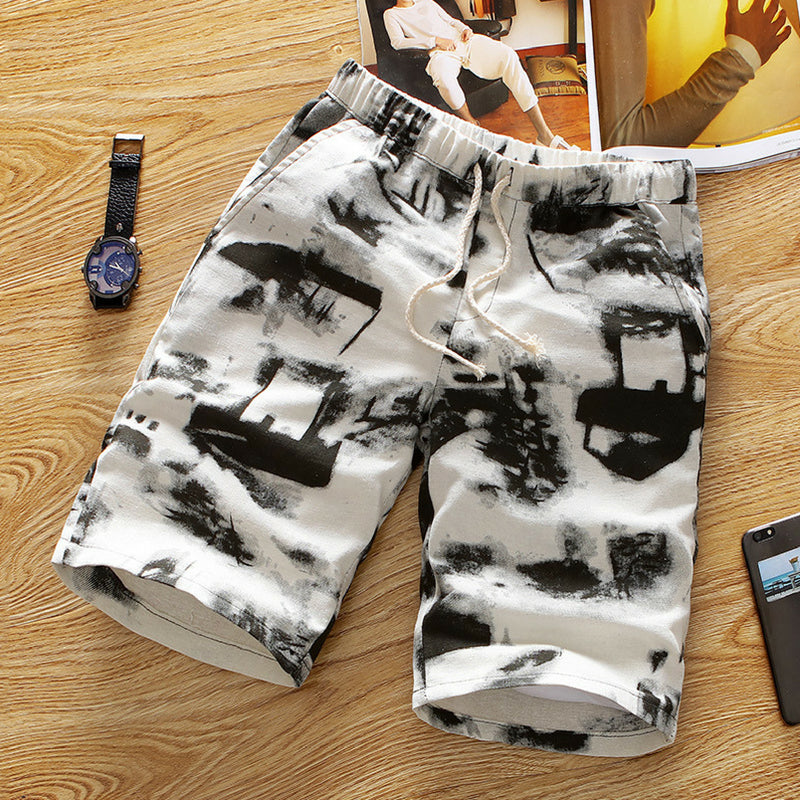 Summer Shorts - Artistic Pattern