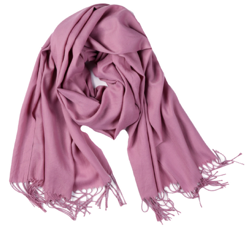 Light Purple Canada Scarf