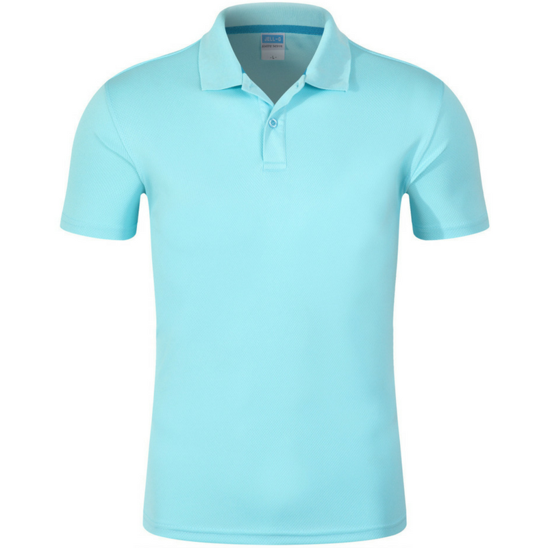 9151df04c9f0 ... get men dry pique short sleeve polo shirt light blue 59957 81c48