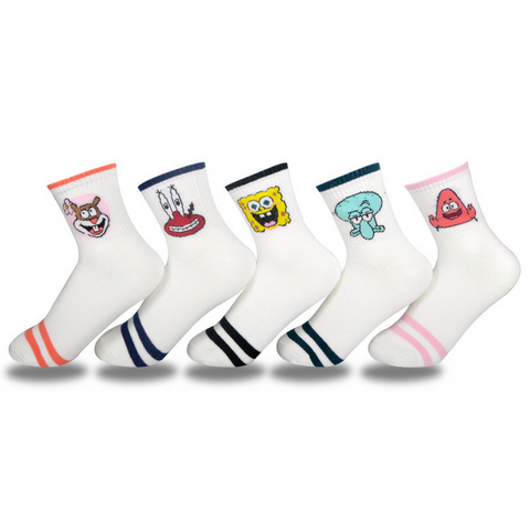 Women's Cartoon Characters Socks