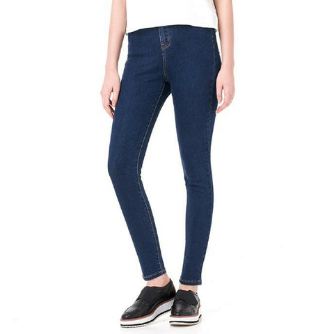 High Waisted Premium Jeans in Navy