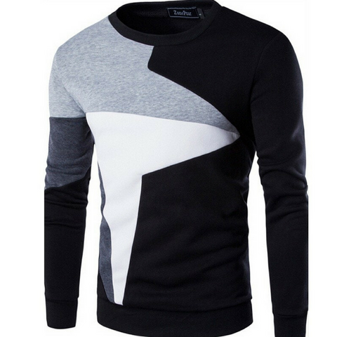Apex Casual Sweater-Black