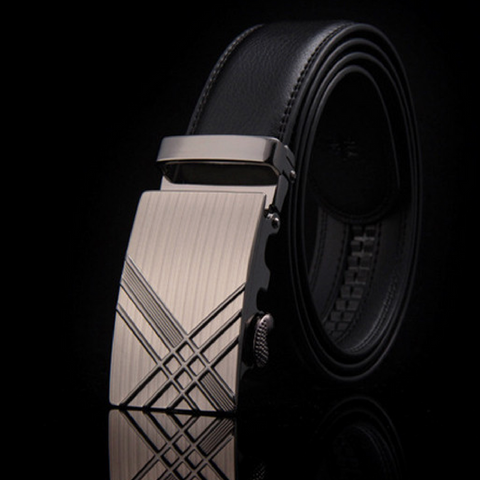 Criss Cross Mens Executive Belt - Genuine leather
