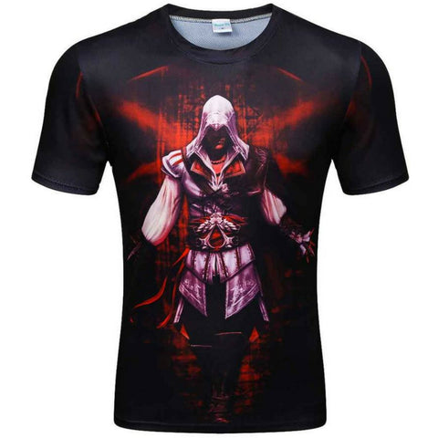 Assasin Gym 3D Tee