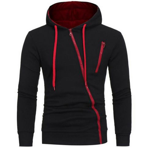 Black Crash Operative Hoodie