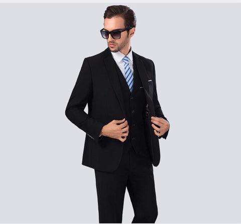 Suits Wedding Groom - Black